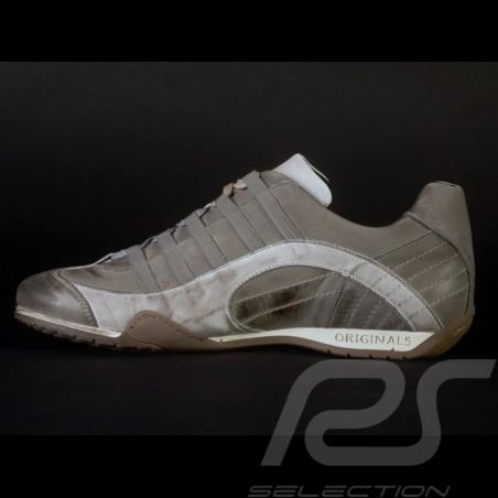 Chaussure Sport sneaker / basket Style pilote Beige V2 - homme