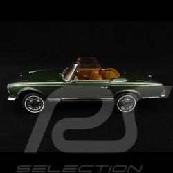Mercedes-Benz 280 SL 1963 vert métallisé green metallic Moosgrün 1/18 Schuco 450035700