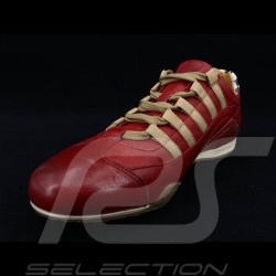 Sneaker / basket shoes Style race driver Corsa Rosso red - men
