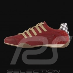 Chaussure Shoes Schuhe Sport sneaker / basket Style pilote Rouge Corsa Rosso - homme