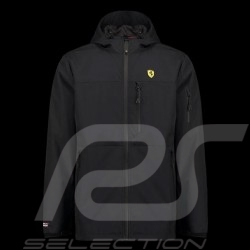 Veste Ferrari de pluie Noir Collection Scuderia Ferrari Official Rain jacket regenjacke homme men herren