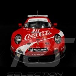 Porsche 911 type 991 GT3 RSR 2019 n° 911 Coca-Cola Petit Le Mans 2019 1/18 Spark WAP0219300MCCL