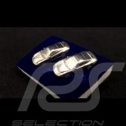 Boutons de manchette Porsche 911 type 996 Argent Sterling 925 cufflinks Manschettenknöpfe