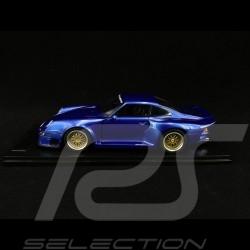 Porsche 911 GT1 Almeras Type 993 bleu métallisé 1/18 KESS KE18004A