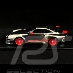 Porsche 911 GT1 Almeras Type 993 Grau / Rot 1/18 KESS KE18004C