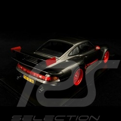 Porsche 911 GT1 Almeras Type 993 grey / red 1/18 KESS KE18004C