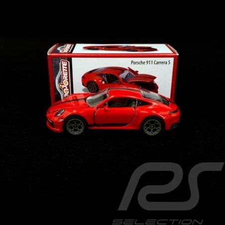 Porsche 911 Carrera S type 992 Guards red 1/59 Majorette 212052016T20