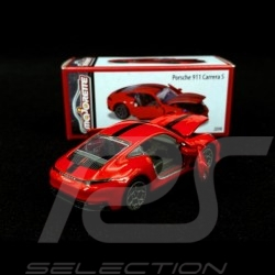 Porsche 911 Carrera S type 991 Guards red 1/59 Majorette 212052016T20