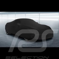 Housse de protection intérieur Indoor car cover Fahrzeugabdeckung Porsche 718 Spyder noire Black Schwarz Quali