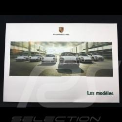 Broschüre Porsche Full range 2014 ref WSLU1501000530 FR/WW