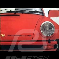 Porsche Broschüre Porsche Bereich 1977 in Englisch