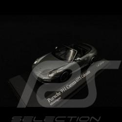 Porsche 997 Carrera GTS Cabriolet 2011 gris 1/43 Minichamps 410060130