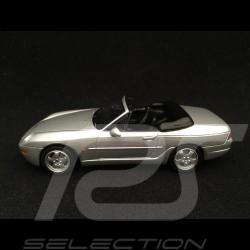 Porsche 968 Cabriolet 1994 silver grey 1/43 Minichamps 400062332