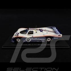 Porsche 962 C n° 17 Rothmans Winner Le Mans 1987 1/43 Spark S0942