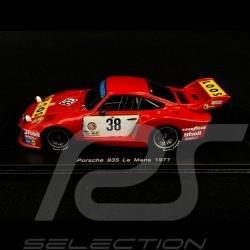 Porsche 935 n° 38 Le Mans 1977 1/43 Spark S4428