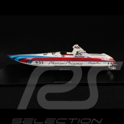 Martini Off Shore Boat Lancia 8.32 1987 Rot / weiß / blau 1/43 Spark S2301