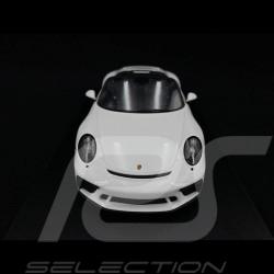 Porsche 911 Speedster type 991 2019 white 1/18 Spark 18S466