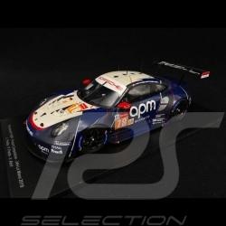 Porsche 911 RSR type 991 n° 78 Proton racing Le Mans 2019 1/18 Spark 18S441
