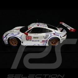 Porsche 911 RSR type 991 n° 911 GT Team Winner GTLM Petit Le Mans 2018 1/12 Spark 12S015