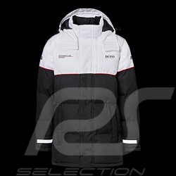 Porsche Motorsport Hugo Boss Jacket Winter Padded Black / white WAP120L0MMSR - unisex