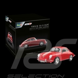 Calendrier de l'avent Porsche 356 B Coupé 1959 rouge signal 1/16 Revell 01029 Advent calendar Adventskalender