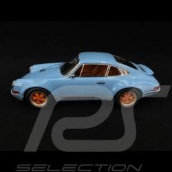 Singer Porsche 911 Coupé hellblau/orange 1/18 KK Scale KKDC180441