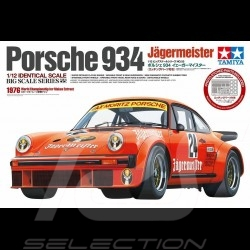 Maquette Kit Modellbau Porsche 934 Turbo RSR Jägermeister 1/12 Tamiya 12055