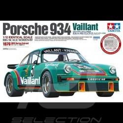 Maquette Kit Modellbau Porsche 934 Turbo RSR Vaillant 1/12 Tamiya 12056