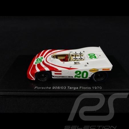 Porsche 908 03 Targa Florio 1970 n° 20 1/43 Spark S4627