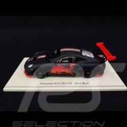 Porsche 911 GT2 RS Club Sport 2019 type 991 Red Bull 1/43 Spark S7636