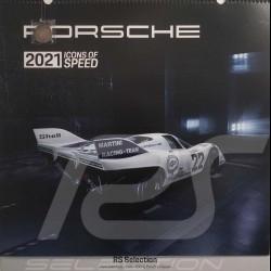 Porsche 2021 Icons of Speed Kalender Porsche Design WAP0922160MGBL