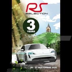 Affiche originale Selection RS 3ème anniversaire du showroom