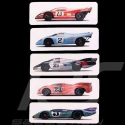 Set 5 aimants Porsche 917 24h Le Mans WAP0500190FETA