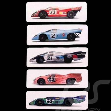 Set of 5 magnets Porsche 917 24h Le Mans WAP0500190FETA