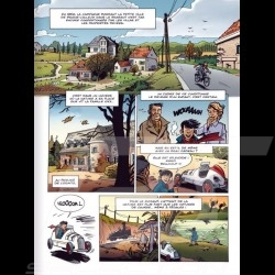 Book Comic Jacky Ickx - Volume 1 - Rainmaster - french