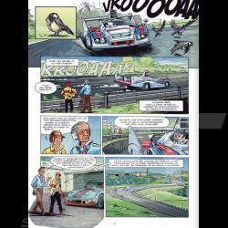 Book Comic Jacky Ickx - Volume 2 - Monsieur Le Mans - french