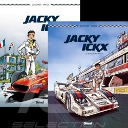 Duo Book Comic Jacky Ickx - Volume 1 & 2 - french