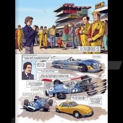 Book Comic 24h du Mans - 1972-1974 - Les années Matra - french