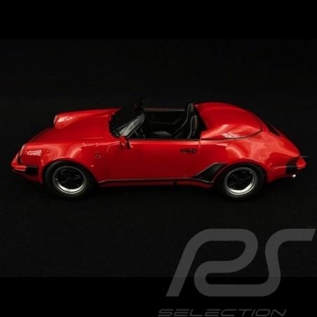 Porsche 911 Speedster 1989 red 1/18 KK Scale KKDC180451