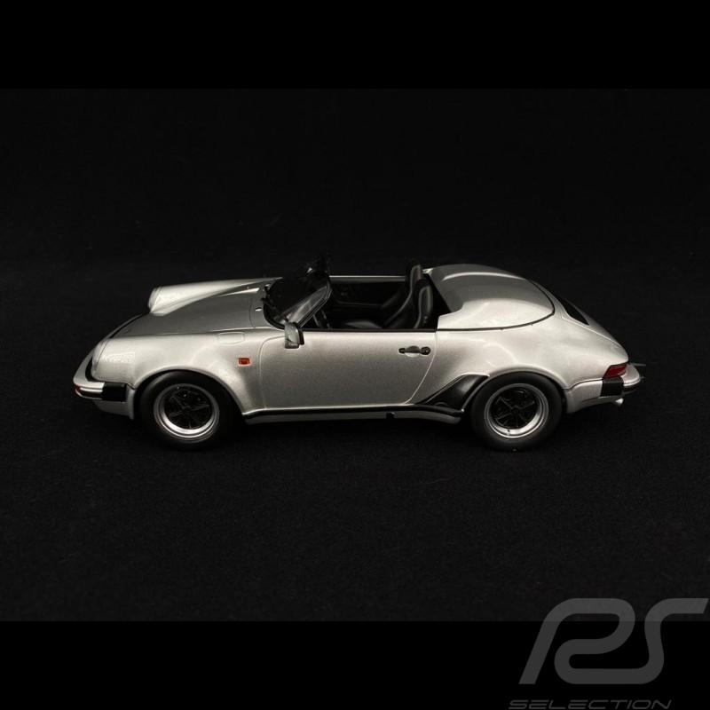 Porsche 911 Speedster 1989 silver 1/18 KK Scale KKDC180453