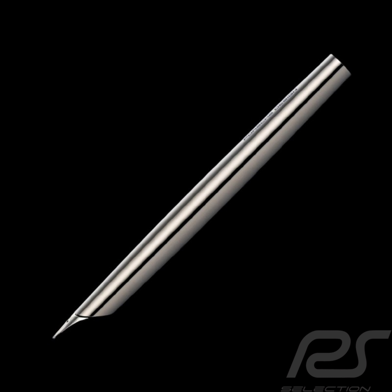 Porsche Design Solid Titanium Fountain Pen Gold nib