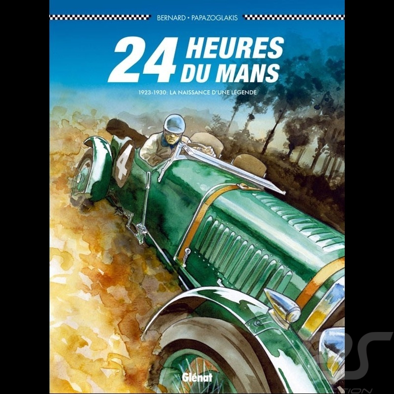 Book Comic 24h du Mans - 1923-1930 - Les Bentley Boys - french