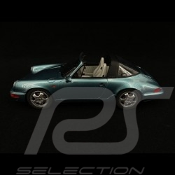 Porsche 911 Targa Carrera 4 type 964 Turquoise métallisé 1/18 GT Spirit GT805