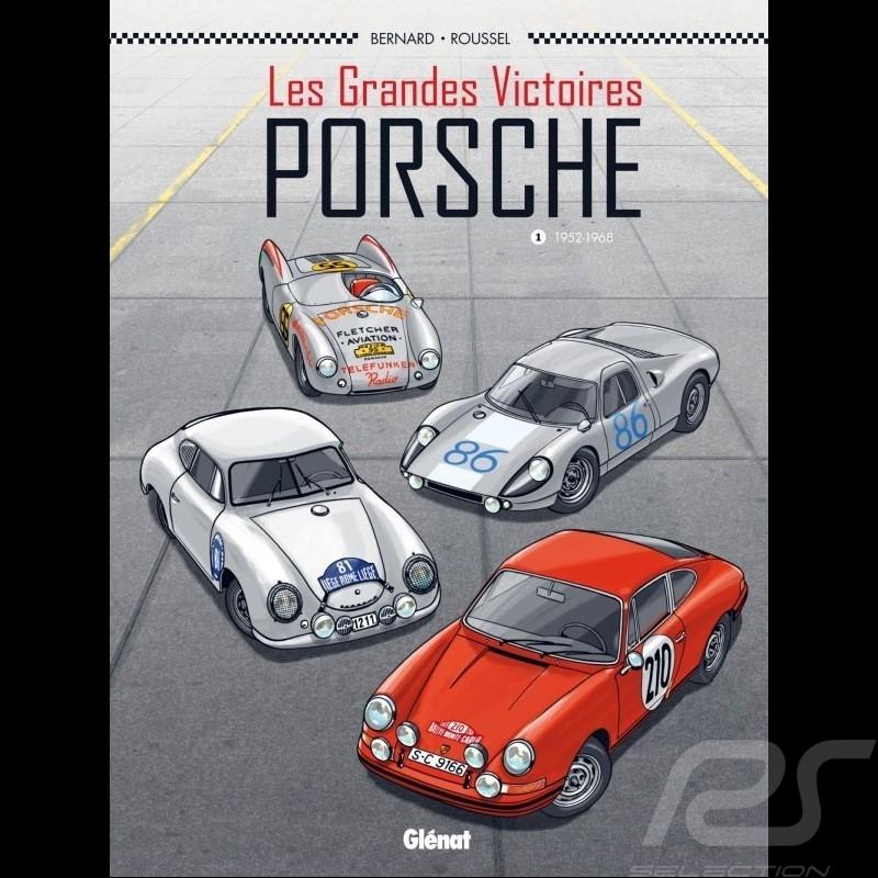 Book Comic Les Grandes victoires Porsche - Tome 1 - 1952-1968 - french