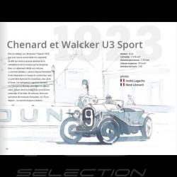 Book  Les 24 heures du Mans - Carnet d'artiste