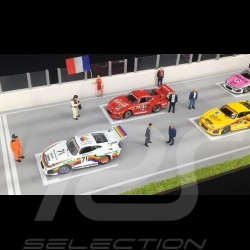 Diorama figurines set Le Mans 2018 1/43 Spark 43AC014