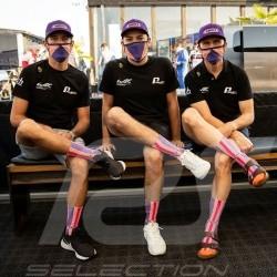 Wynn's 911 RSR socks Pink / purple / orange - unisex