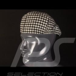 Pepita hat Classic flat cap 100% Wool Premium quality