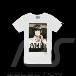 Steve McQueen T-shirt Racing Le Mans White - Men