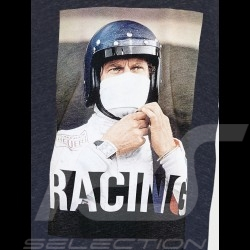 Steve McQueen T-shirt Racing Le Mans Navy blue - Men